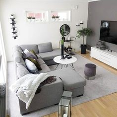 45 Modern And Minimalist Living Room Design Ideas Apartment Living Room design ideas living Minimalist Modern room Modern Farmhouse Living Room, Apartment Living Room Design, Small Room Design, Living Room Decor Apartment, Minimalist Living Room, Living Room Grey, Living Room Design Modern, Scandinavian Design Living Room, Modern Apartment Living Room