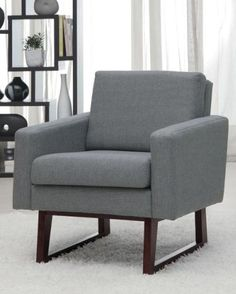 Chairs : Modern Grey Chair Loop Living