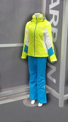 Ladies, it's snowing and if you haven't picked out your outfit for this season be seen in our Amethyst jacket in Bright Yellow with the Pearl Pant in Cayman Blue.   #Karbon bringin' a bit of warmth and colour from the tropics to the #slopes! #therearenolimits #skiing #snowboarding #winteriscoming #sports #snow