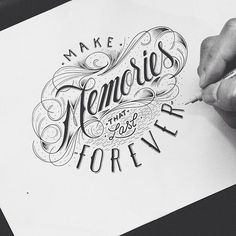 Typographie #2 : Lettering & Calligraphie | Blog du Webdesign