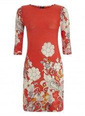 Izabel London Floral Printed Dress #valentine