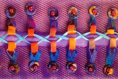 """""""New ideas in Fusing Fabric"""", written by Margaret Beal inspires you with creative cutting, bonding and mark making with the soldering iron, great textile art ideas! To source the book and the soldering iron contact burningissues@margaretbeal.co.uk Textiles Techniques, Soldering Iron, Mark Making, Textile Art, New Art, Fiber Art, Embroidery, Quilts, Sewing"""