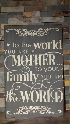 MOTHERS DAY SIGNS/Mothers Day Gift/Mothers Birthday