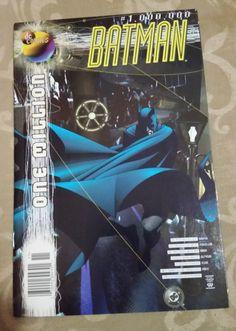 DC Comics Batman 1000000  One Million  Moench  NM by trufflepig1 Batman Comics, Dc Comics, One In A Million, Sell On Etsy, Justice League, Vintage, Vintage Comics