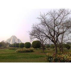 """#LotusTemple #IncredibleIndia """"The whole world must be looked upon as one single country."""" - Abdu'l-Baha Lotus Temple New Delhi India. Baha'i House of Worship. #LotusTemple #NewDelhi #India #Baha'i #Love #Peace #Faith #IncredibleIndia #BeautifulIndia #TourismIndia #Historical #Amazing #Beautiful #Garden #Flowers #Trees #Temple #Lotus #Panoramic #Winter #Tourism #Travel #Wanderers #Explorer #Heritage #Architecture #Travelogue #PhotoOfTheDay #Wanderlust #Instagram by nicklakra7"""