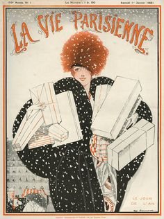 Illustration by Zyg Brunner For La Vie Parisienne January 1921