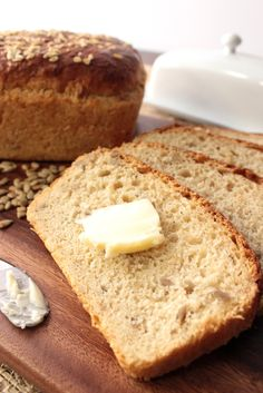 If you're looking for a homemade bread with a lot of body, and a touch of sweetness, then this Oatmeal Honey Bread with Sunflower Seeds is just the ticket!