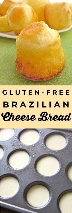 Gluten-Free Brazilian Cheese Bread (Pao de Queijo) from The .- Gluten-Free Brazilian Cheese Bread (Pao de Queijo) from The Food Charlatan Gluten-Free Brazilian Cheese Bread (Pao de Queijo) from The Food Charlatan - Dessert Sans Gluten, Oreo Dessert, Gluten Free Desserts, Gluten Free Party Food, Gluten Free Appetizers, Free Food, Gluten Free Diet Plan, Gluten Free Cooking, Gf Recipes
