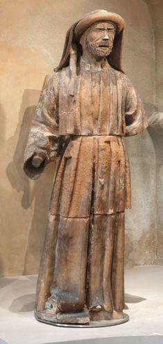 Jean BAUDUY, Prophète, 1523, Inv. RA 515 C. Exposée, église. © Musée des Augustins, Toulouse, photographie Daniel MARTIN