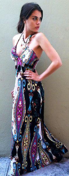 Classical Painting Dress - Boca Leche