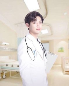 Dr. Park chanyeol - i will consult every single day if he would be my doctor xD