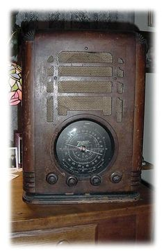 1000 Images About Old Zenith Radios On Pinterest