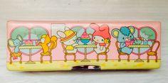 1981 Sanrio my melody pencil case ....que habra sido de mi estucheeee!!!