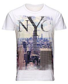 Rey, Men Fashion, Printed Shirts, Hollister, Graphic Tees, Shirt Designs, Menswear, Logo, Prints