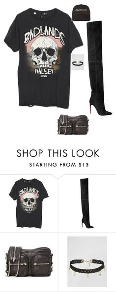 """""""Untitled #380"""" by guls ❤ liked on Polyvore featuring Balmain, Alexander Wang and ASOS"""