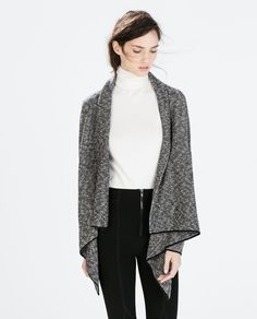 ZARA - NEW THIS WEEK - TWO-TONE POINTED JACKET