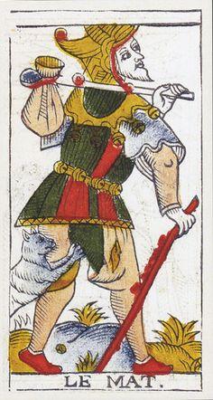 Tarot de Marseilles Pierre Madenie 1709