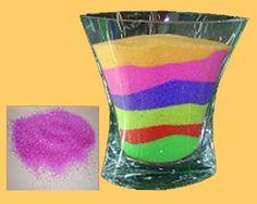 Recette sable coloré maison