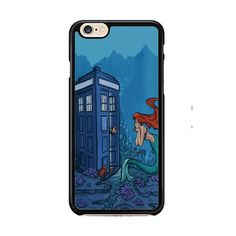 Dr Who Tardis Ariel The Little Mermaid IPhone 6| 6 Plus Cases