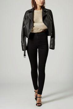 Black High Waist Skinny Jeans Genuine People