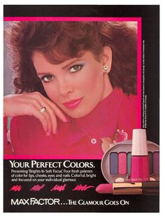 Jaclyn Smith for Max Factor