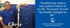Success Story: Christopher | Goodwill Industries of the Southern Piedmont