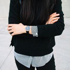 #moda #fashion fall winter 2014 otoño invierno black and white blanco y negro