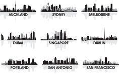 Panorama města v Austrálii Navštivte nás na http://chandlerdental.com.au/