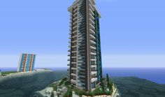 Awesome Minecraft Modern Skyscraper