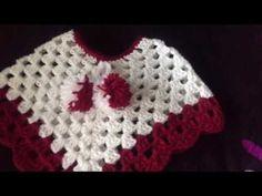 Crochet Uncinetto Poncho - YouTube