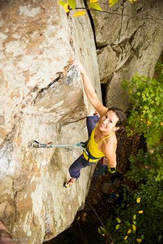 Great shot of Erica! Nice work CragMama. Thx to Trango Extraordinary Climbing for the photos