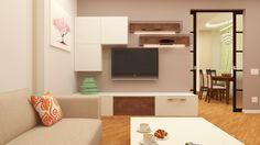 Interior design of a guest's room (Fen shui project)