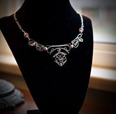 Divine Power Necklace/Mystical Neckace/Trinity Jewelry/Triangle ...