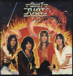 Early Quiet Riot with Randy Rhoads