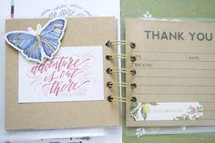 Thankful Mini Album by Wendy Antenucci for We R Memory Keepers Thankful Heart, We R Memory Keepers, Mini Books, Mini Albums, Scrap, Paper Crafts, Posts, Memories, Blog