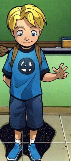 fantastic four , Franklin richards , son of genius