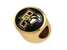 Tribal Design Bowling Green State University Falcons Rings Stainless Steel 8MM Wide Ring Band