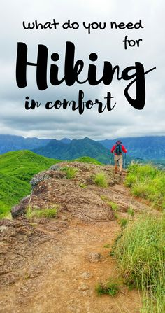 Hiking tips for beginners, what to wear hiking! Gear list of clothes for day hike, backpacking. With checklist for hiking destinations for world or US Hiking Checklist, Road Trip Essentials, Hiking Tips, Hiking Gear, Backpacking Tips, Camping Tips, Hiking Shirts, Tent Camping, Hiking Boots