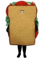 Mascot costume #FC121B-Z Sandwich (Bodysuit not included)