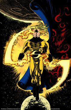 O Sentinela. The Sentry. Marvel E Dc, Marvel Comic Universe, Comics Universe, Marvel Heroes, Marvel Characters, Secret Avengers, New Avengers, Sentry Marvel, Deadpool