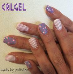 Calgel nail art by polished