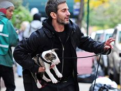 Marc Jacobs: a beautiful man with an even prettier pup.