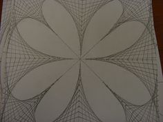 Line Design Op Art : My art that i made in class