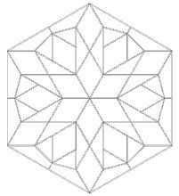 Imaginesque - Free quilt block patterns and templates for English Paper Piecing.