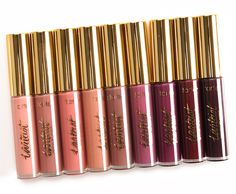Sneak Peek: Tarte Tarteist Glossy Lip Paint Photos & Swatches