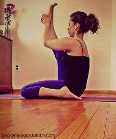 Heron Pose » Yoga Pose Weekly