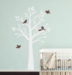a more serene tree for the nursery.. and I love the color combo