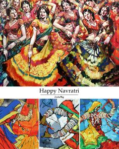 Studio3 Art Gallery wishes you a Happy Navratri!