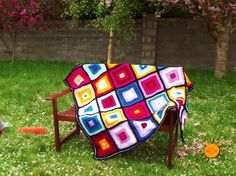 There where is Soleil...: Simple Square Blanket