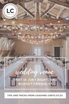 Planning a wedding is tough, and takes many hours and days of hard work. We always say that the first wedding you plan is seldom a 100% success, so why practice on your own. But if you have the guts, patience and support to attempt to plan your own wedding, at least allow us to help in this small way. #weddingvenue #weddingplanning #laughingchefs #southafricanweddings